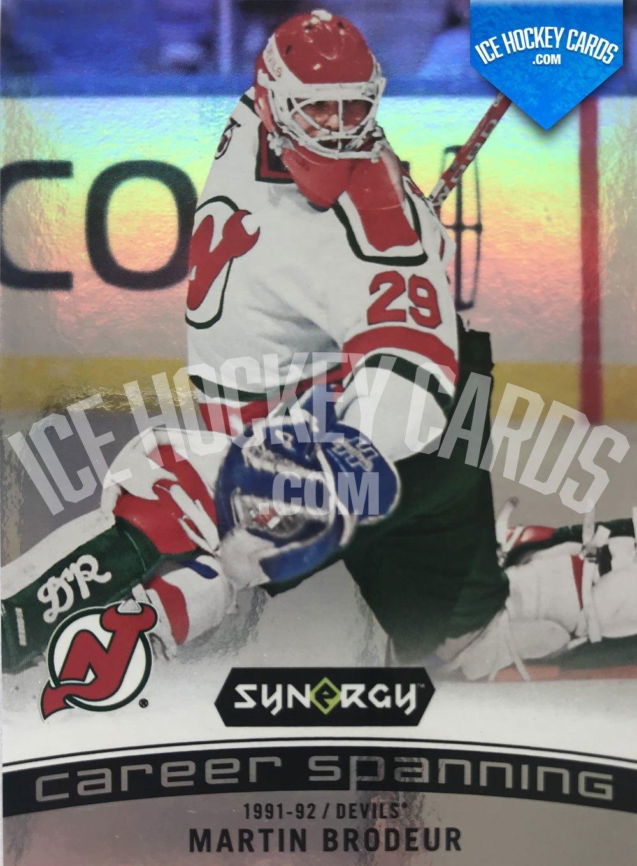 Upper Deck - Synergy 19-20 - Martin Brodeur Career Spanning 91-92 Devils