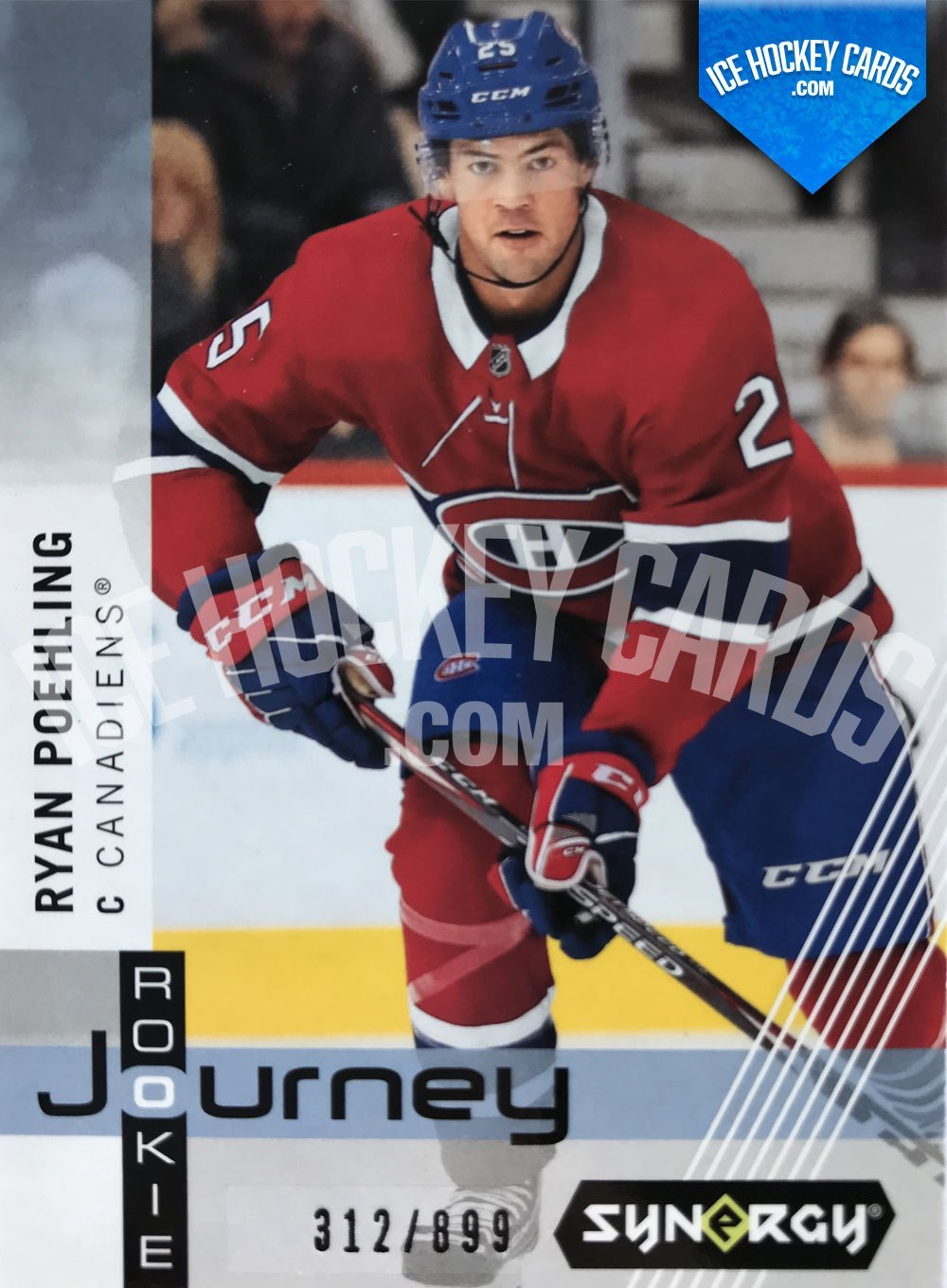 Upper Deck - Synergy-19-20 - Ryan Poehling Rookie Journey