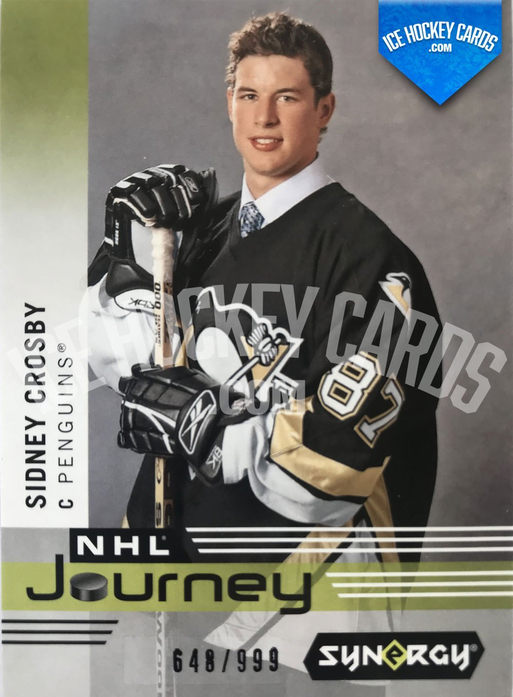 Upper Deck - Synergy 19-20 - Sidney Crosby NHL Journey