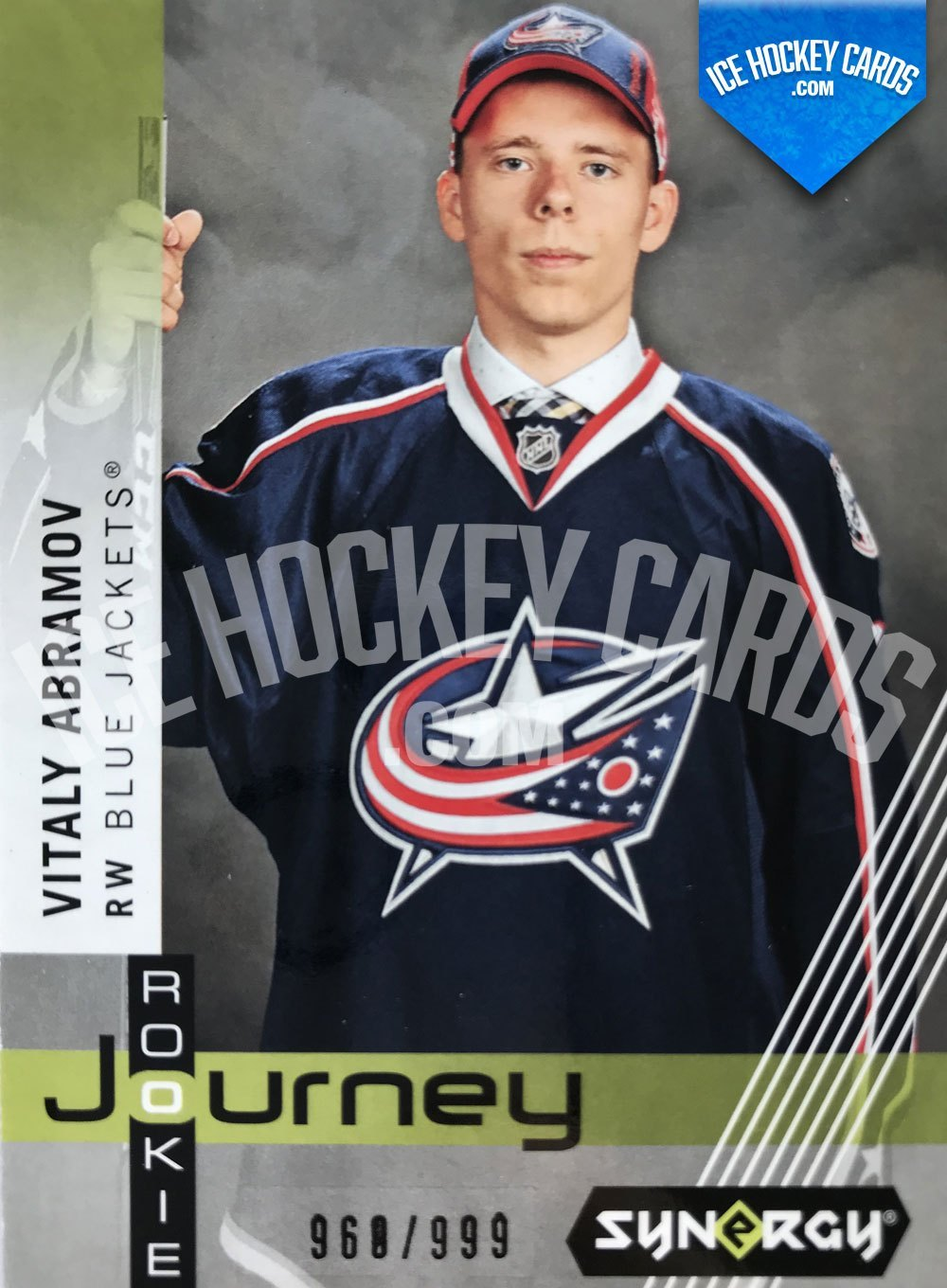 Upper Deck - Synergy 19-20 - Vitaly Abramov Rookie Journey