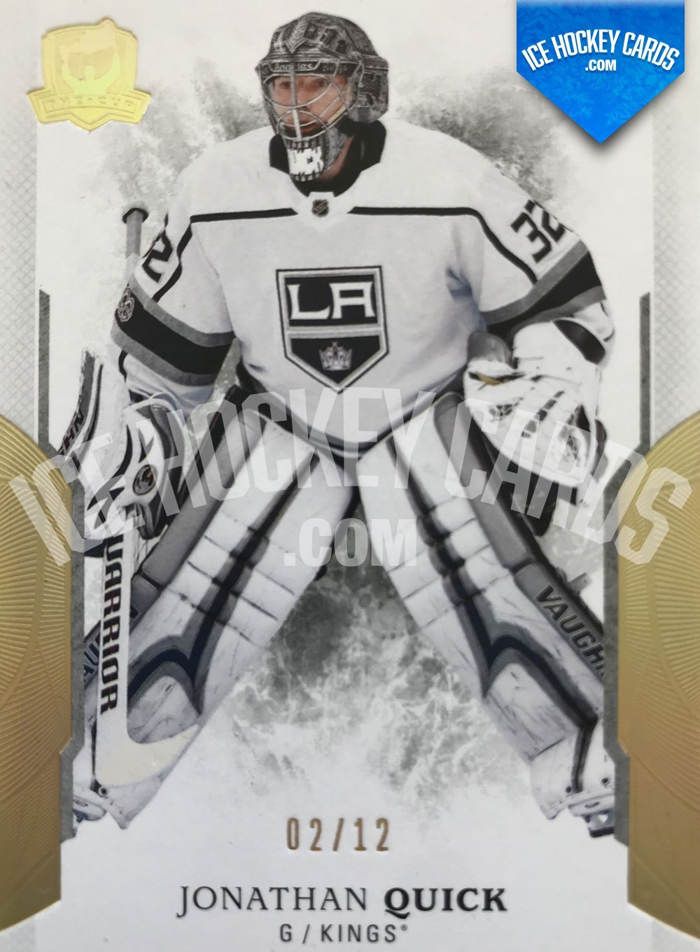 Upper Deck - The Cup 17-18 - Jonathan Quick Gold Base Card 2 of 10 RARE