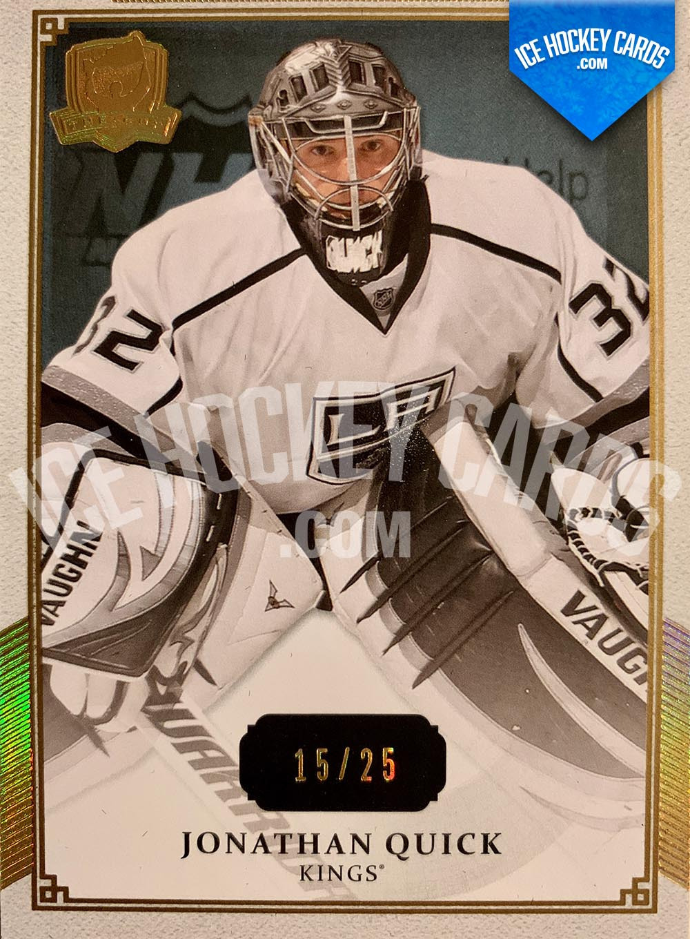 Upper Deck - The Cup 2013-14 - Jonathan Quick Gold Base Card # to 25 RARE