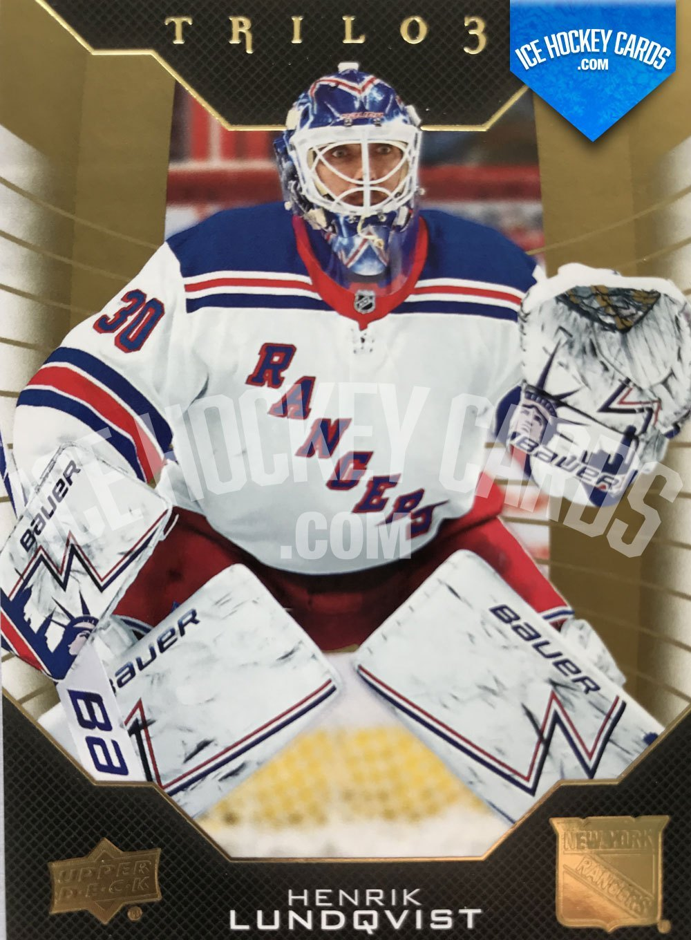 Upper Deck - Trilogy 19-20 - Henrik Lundqvist Base Card