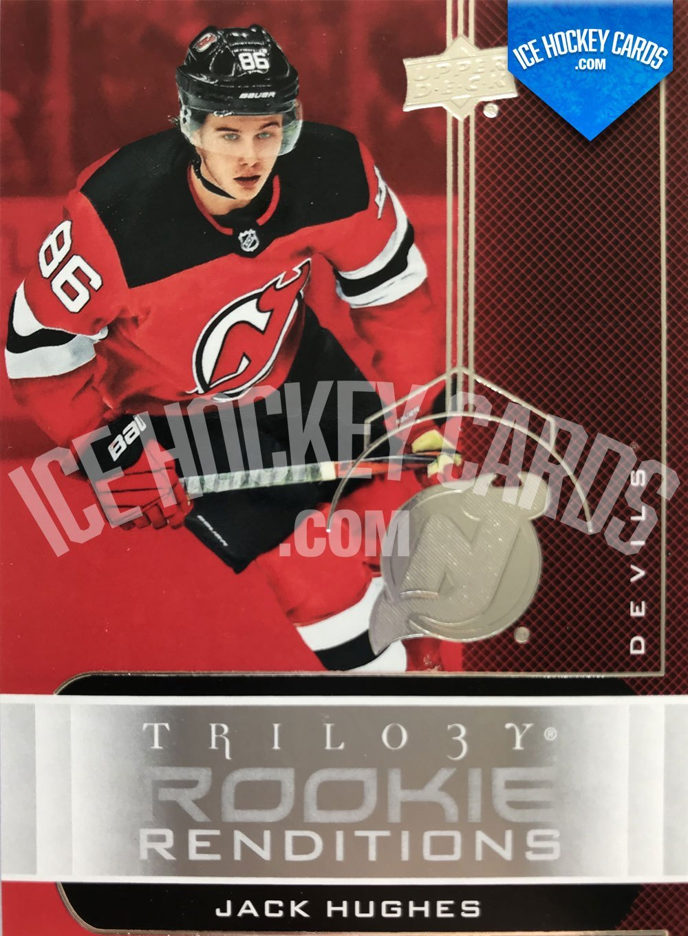 Upper Deck - Trilogy 19-20 - Jack Hughes Rookie Renditions
