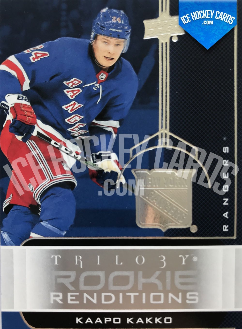 Upper Deck - Trilogy 19-20 - Kaapo Kakko Rookie Renditions